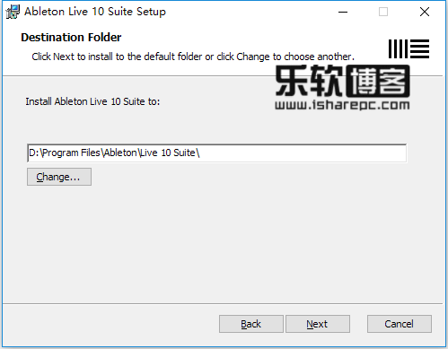 Ableton Live Suite 10安装
