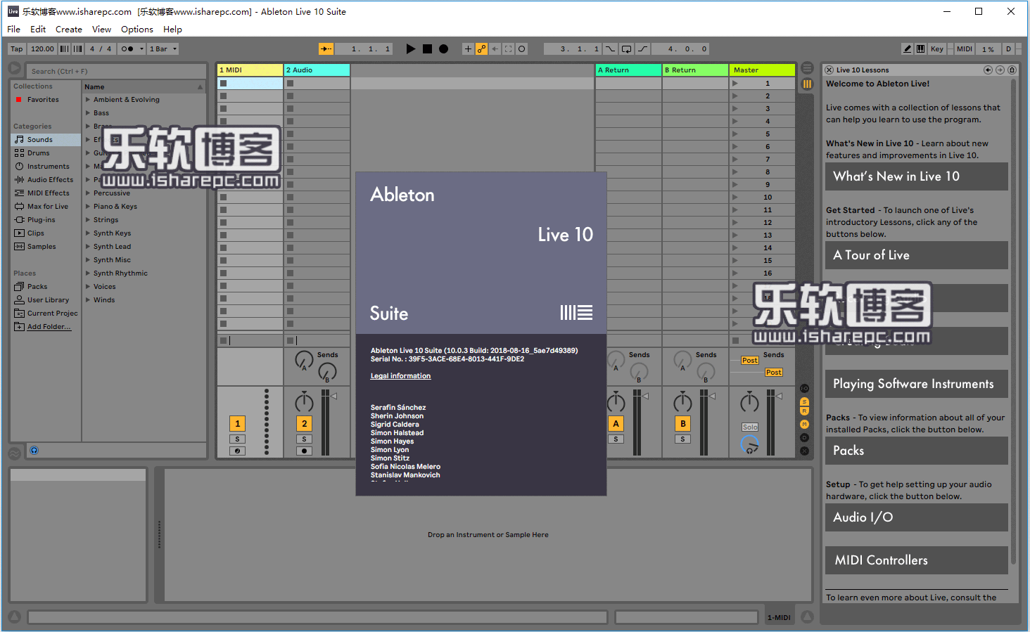 Ableton Live Suite 10破解版