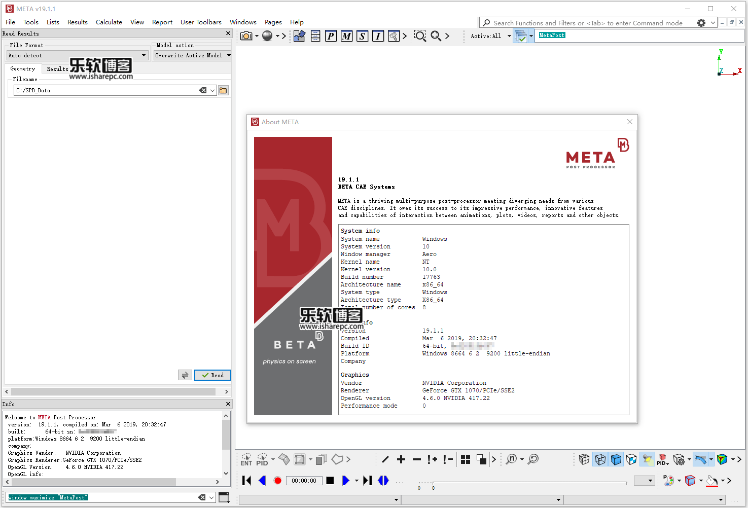 BETA-CAE Systems v19.1.1破解版