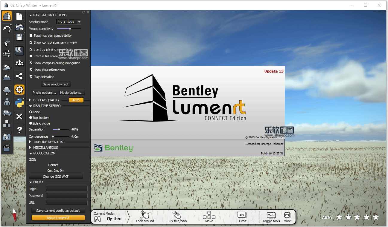 Bentley LumenRT Connect Edition Update 13破解版