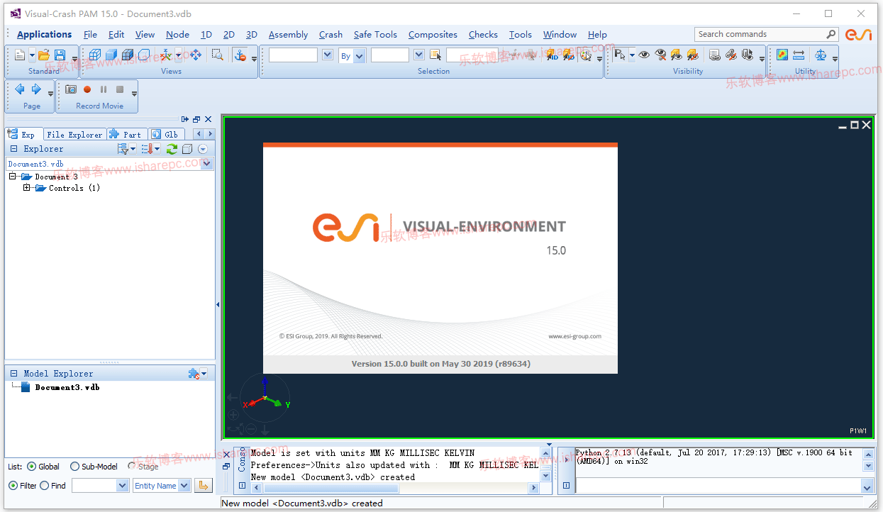ESI Visual-Environment 15.0破解版