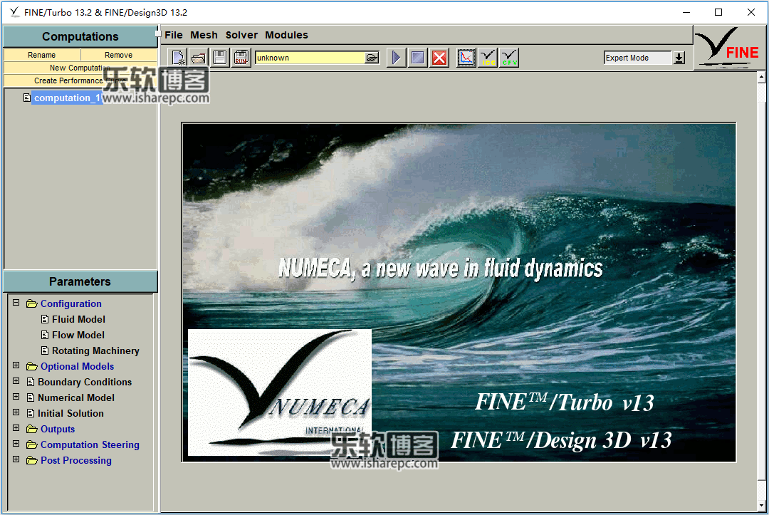 NUMECA FINE/Turbo 13.2破解版