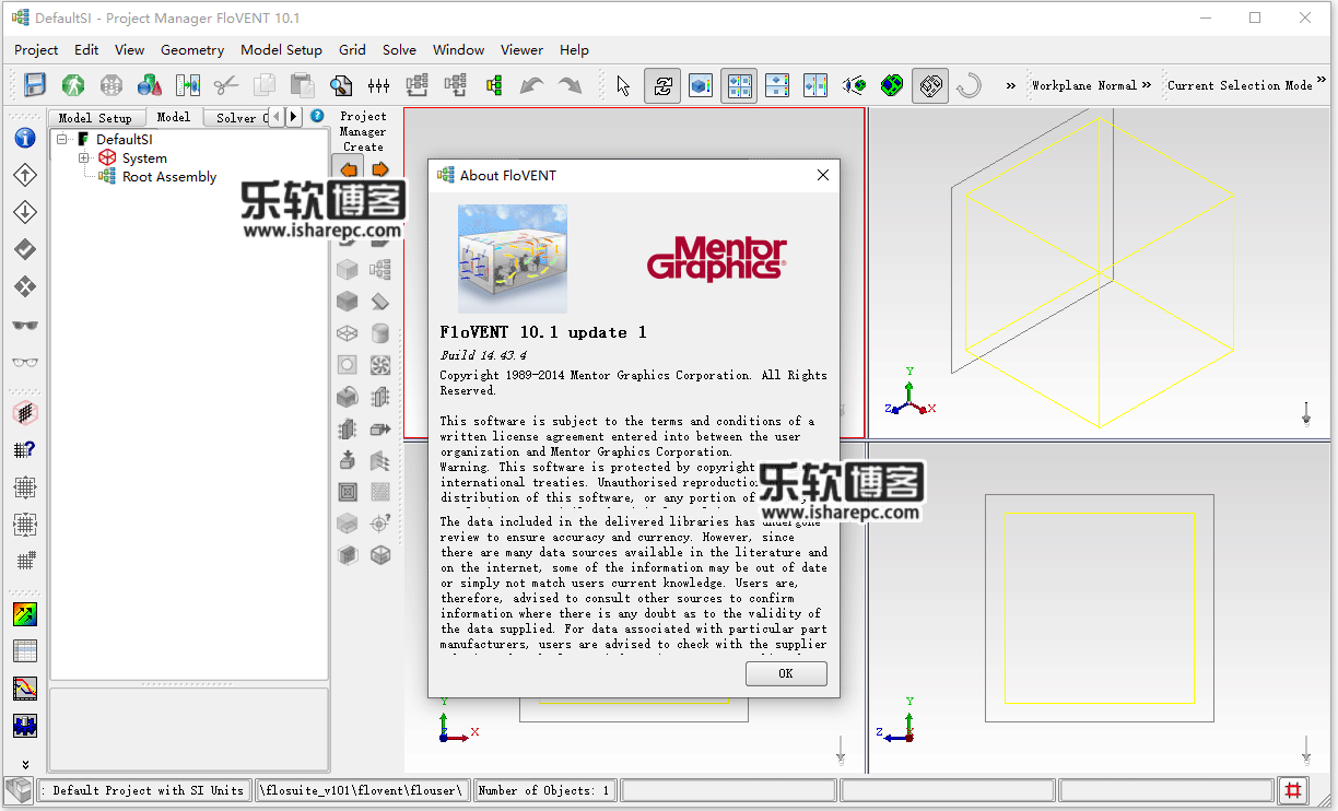 Mentor Graphics FloVent 10.1 Update 1破解版