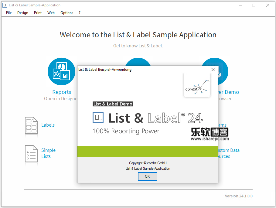 Combit List and Label Enterprise 24.1.0破解版