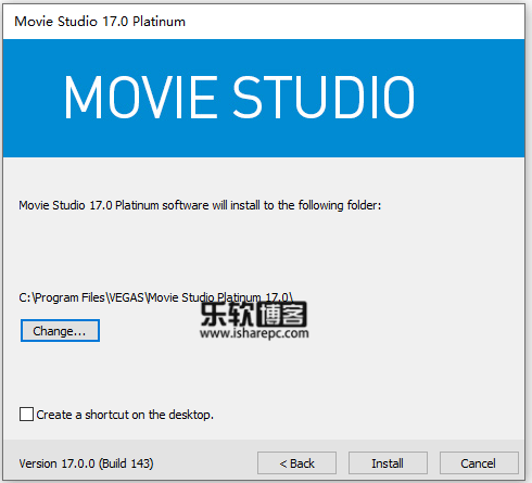 MAGIX VEGAS Movie Studio Platinum 17.0