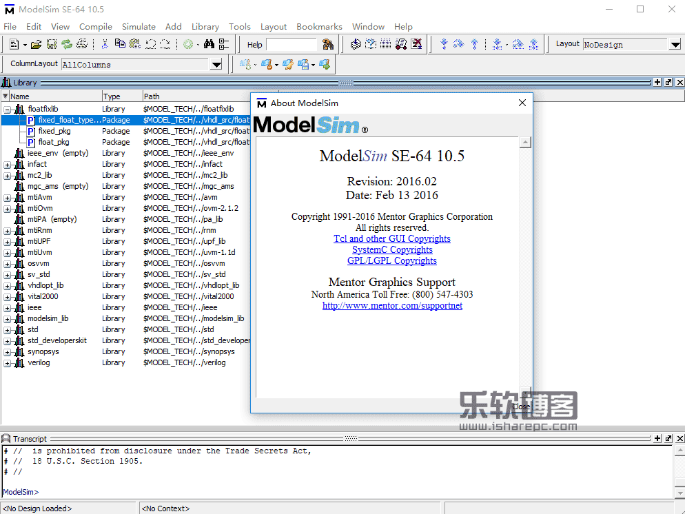 Mentor Graphics ModelSim SE 10.5 crack