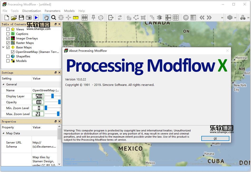 Processing Modflow X v10.0.22破解版