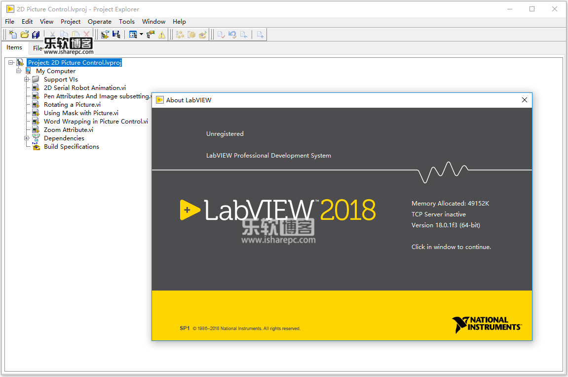NI LabView 2018.0.1F3 SP1破解版