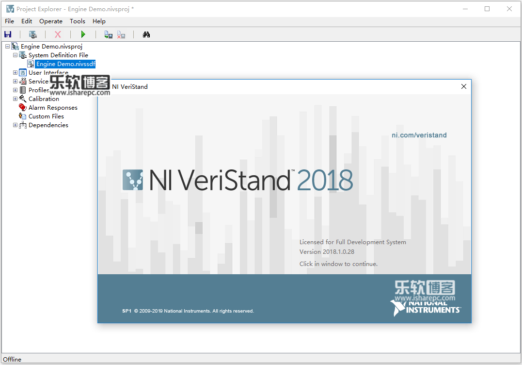 NI VeriStand 2018 SP1破解版
