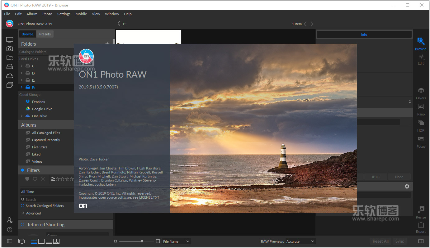 ON1 Photo RAW 2019.5 v13.5.0破解版