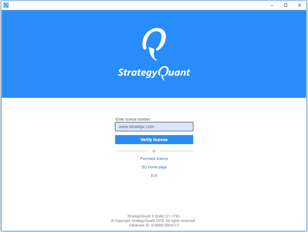 StrategyQuant X Pro Build 121