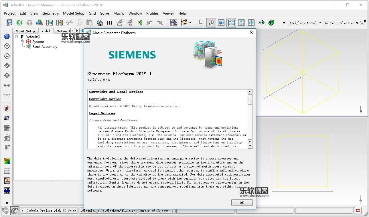 Siemens Simcenter FloTHERM 2019.1 Suite破解版