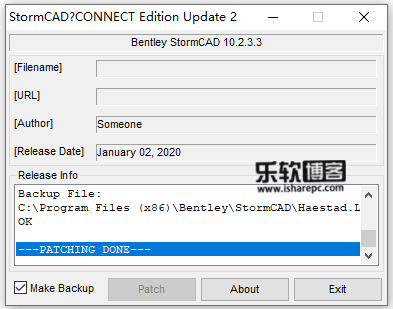 StormCAD CONNECT Edition Update 2 v10.02.03.03破解补丁