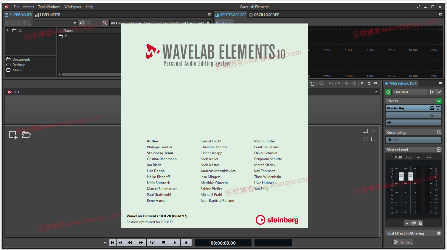 Steinberg WaveLab Elements 10.0.20破解版