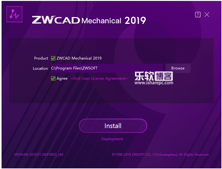 ZWCAD Mechanical 2019 SP2