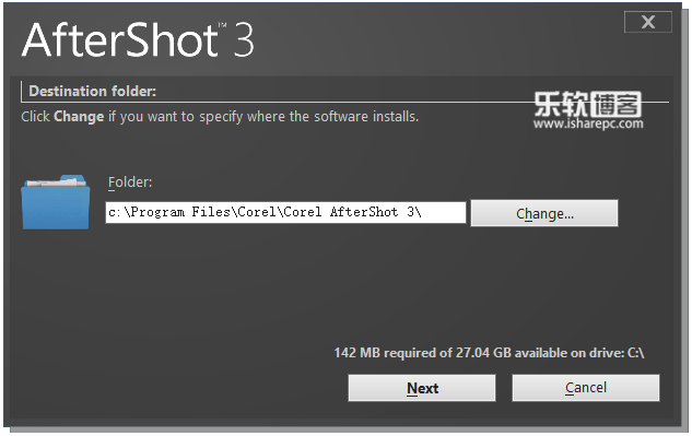 Corel AfterShot Standard 3.5