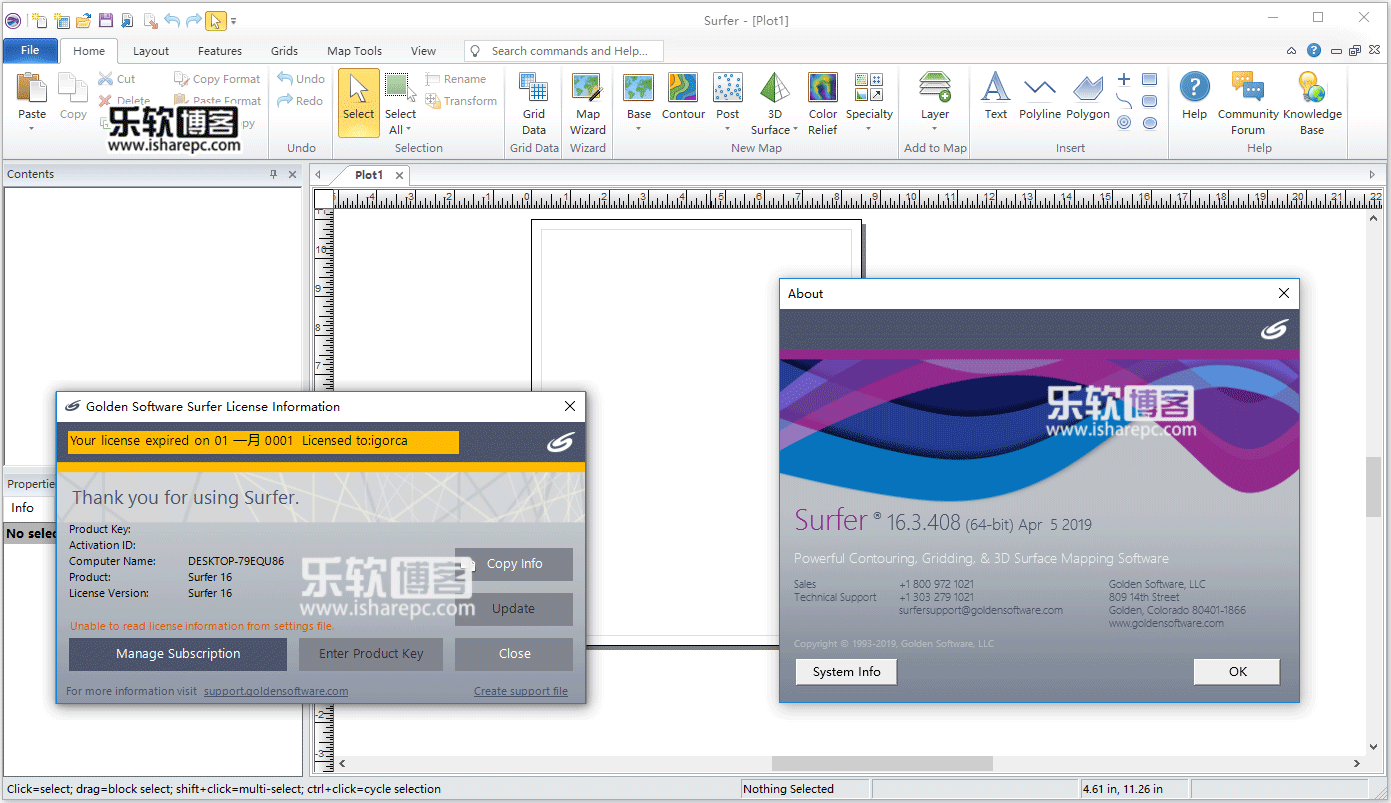 Golden Software Surfer 16.3.408破解版